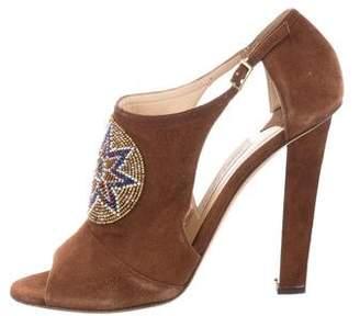 Jimmy Choo Embellished High Heel Sandals