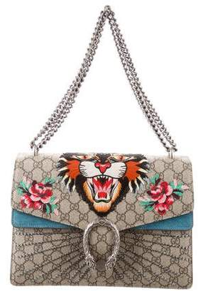 Gucci 2017 GG Angry Cat Medium Dionysus Bag