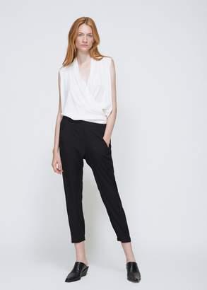 Zero Maria Cornejo Silk Charmeuse Gabi Trousers
