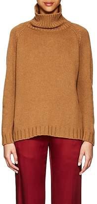 Barneys New York Women's Cashmere Turtleneck Sweater - Camel