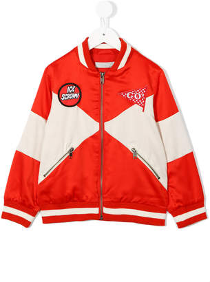 Stella McCartney Ice Scream bomber jacket