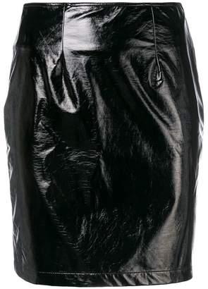 Federica Tosi vinyl mini skirt