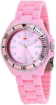 Seapro Women's Spring 36mm Silicone Band Steel Case Quartz Watch Sp3213