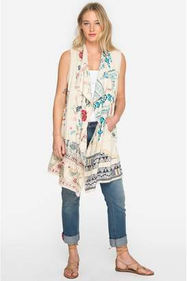 Johnny Was Imrie Patchwork Vest