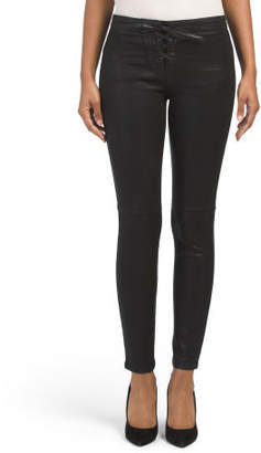 The Coated Icon Ankle Taylor Jeans