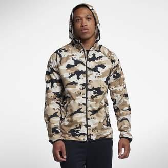 Nike Dri-FIT Men's Woven Camo Training Jacket