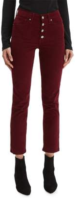Levi's 724 High-Rise Shiraz Luxe Cord Jeans
