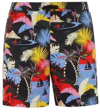 Topman Mens Multi Hawaiian Pull On Shorts