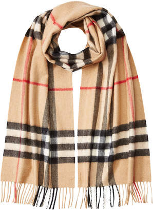 Burberry Giant Icon Printed Cashmere Scarf