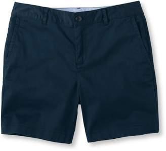 """L.L. Bean L.L.Bean Washed Chino Shorts, 6"""""""