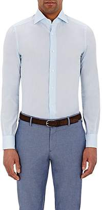 Isaia Men's Button-Front Shirt - Blue