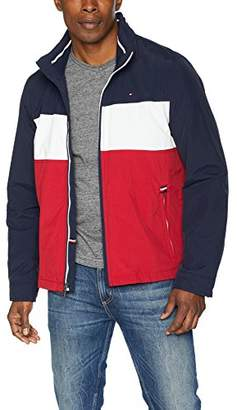 Tommy Hilfiger Men's Stand Collar Lightweight Yachting Jacket