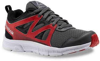 Reebok Run Supreme 2.0 Toddler & Youth Sneaker -Grey/Red - Boy's