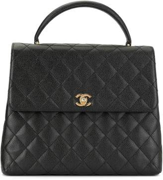 Chanel Pre-Owned 2002 diamond quilted tote