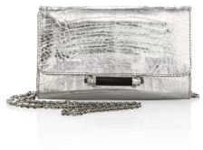 Judith Leiber Mini Sloane Metallic Crocodile Clutch $1,295 thestylecure.com