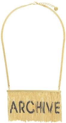 MM6 MAISON MARGIELA archive fringed necklace