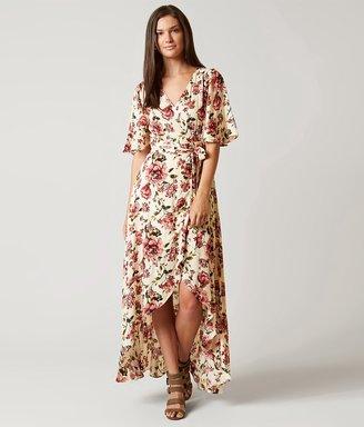 En Crème Wrap Maxi Dress $49.95 thestylecure.com