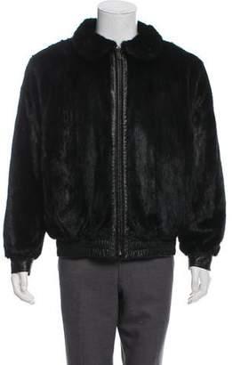 Mink & Leather Reversible Jacket