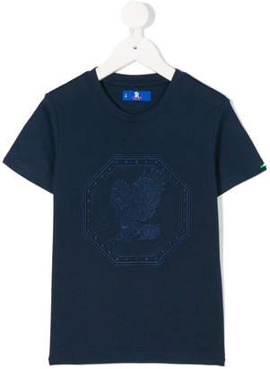 Stefano Ricci Kids flying eagle motif T-shirt