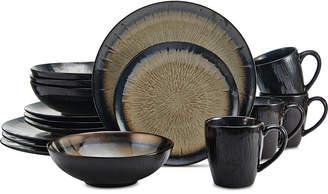 Mikasa Reed Cream 16-Pc. Dinnerware Set, Service for 4