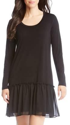 Karen Kane Flounce Ruffle Hem Dress