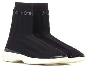 Acne Studios Batilda stretch mesh sneakers