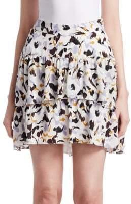 A.L.C. (エーエルシー) - A.L.C. Baxter Silk Mini Skirt