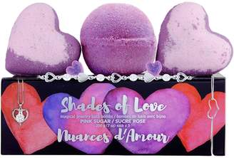 Jewel Within Three-Piece Shades of Love Hidden Jewellery Bath Bombs Set