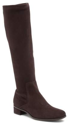 Aquatalia Luciana Weatherproof Stretch Suede Knee-High Boot