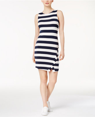 kensie Striped Bodycon Dress $69 thestylecure.com
