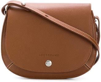 Longchamp flap hobo shoulder bag