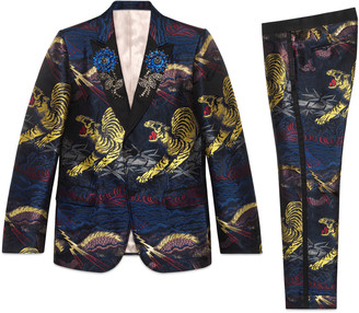 Heritage tiger jacquard tuxedo $4,200 thestylecure.com