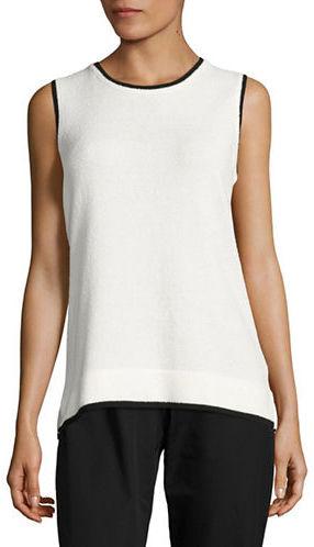 Calvin KleinCalvin Klein Contrast Knit Shell