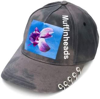 Diesel floral printed cap