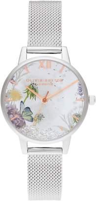 Olivia Burton Wishing Stainless Steel Bracelet Watch