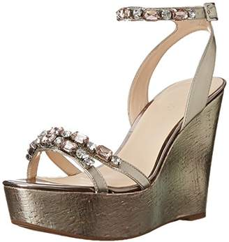 Nine West Women's Admiral Synthetic Dress Sandal