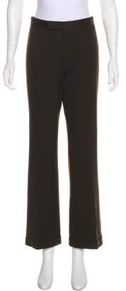 Ralph Lauren Black Label Wool Mid-Rise Pants