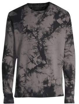 Helmut Lang Tie-Dye Crewneck Sweatshirt