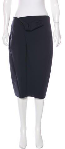 Max MaraMaxMara Wool Knee-Length Skirt
