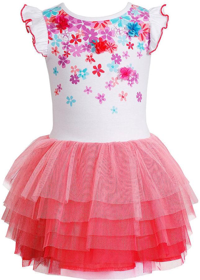 Sweet Heart Rose Little Girls' Butterfly Tutu Dress