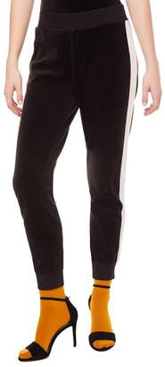 Juicy Couture Side Stripe Velour Pant