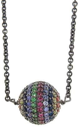 Ileana Makri EYE M by Rainbow Bead Necklace