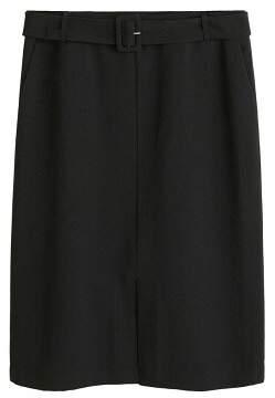 MANGO Violeta BY Belt midi skirt