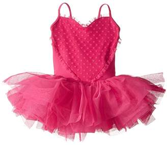Bloch Heart Mesh Camisole Tutu Dress Girl's Dress