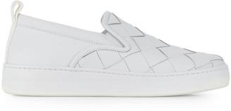 Bottega Veneta woven low top sneakers