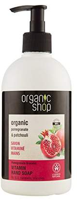 Organic Shop Pomegranate Bracelet Vitamin Hand Soap, 500 ml