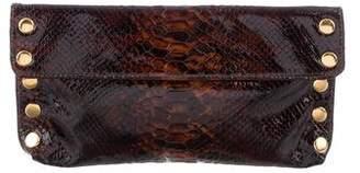 Hammitt Embossed Leather Clutch