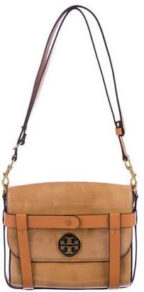 Tory Burch Convertible Patent Leather Shoulder Bag