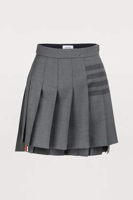 Thom Browne Wool-blend mini skirt