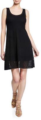 M Missoni Sleeveless Scoop-Neck Knit Dress